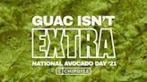 Chipotle has a digital-only free guacamole deal for National Avocado Day
