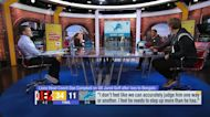 'GMFB' crew reacts to Dan Campbell's criticism of Goff postgame