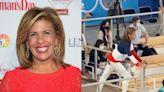 Hoda Kotb cheers on Team USA gymnast Sunisa Lee in viral Olympics video: 'Adore this'
