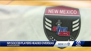 New Mexico youth soccer players selected for U.S. Youth Soccer Olympic Development Program