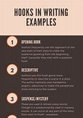 Examples - Ways to hook a reader | Jamie Smartkins