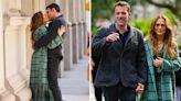 Jennifer Lopez & Ben Affleck snog in street as they walk through New York