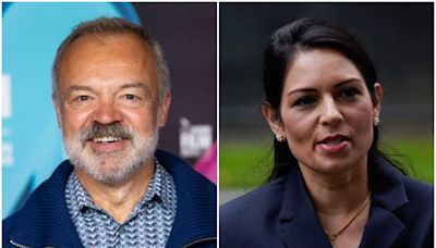 Graham Norton compares Priti Patel to school lunch monitor: 'It's extraordinary she's in charge of anything'