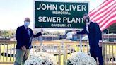 John Oliver Christens the John Oliver Memorial Sewer Plant
