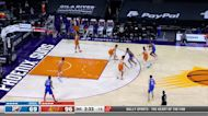 Tony Bradley with an and one vs the Phoenix Suns