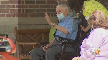 North Texas Holocaust Survivor Marks 100th Birthday With Drive-Thru Celebration