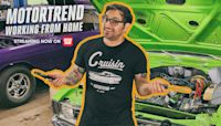 Tony Angelo is Working From Home and Reviving his 1971 Dodge Demon from Winter Storage