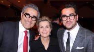 How Dan Levy was surprisingly overshadowed by his parents at his sister's wedding