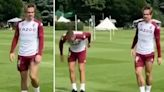 Jack Grealish in Aston Villa training for first time since Man City's £100m bid