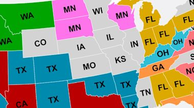 This Map Reveals Where Everyone Is Moving To In The United States