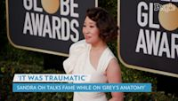 Sandra Oh Saw a Therapist to 'Stay Grounded' During 'Traumatic' Rise to Fame on Grey's Anatomy