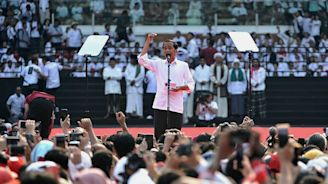 Indonesia presidential race pits heavy metal against the general