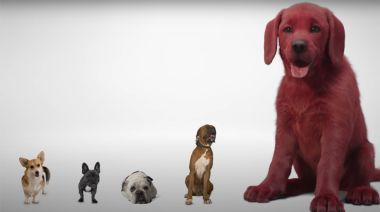 First Look At 'Clifford The Big Red Dog' Draws Mixed Reviews, But Mostly Jokes