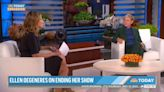 Ellen DeGeneres addresses 'toxic' workplace claims in first TV interview since planning talk-show exit