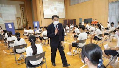 關心學生接種BNT疫苗 黃偉哲至慈濟高中視察 | 台灣好新聞 TaiwanHot.net