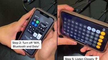 網傳不用輸入密碼解鎖iPhone 達人現身解釋背後原理