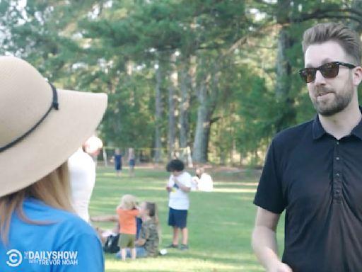 Daily Show's Jordan Klepper Embarrasses Anti-Mask Parents