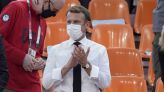 France's Macron uses social media to push for vaccination