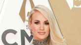 Carrie Underwood's Glittery Gold Gown Comes With Nearly 5-Inch Heels at CMA Awards 2019