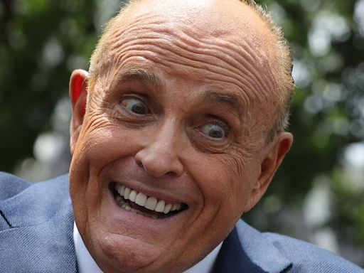Rudy Giuliani Is Scaring The Crap Out Of People With His Bizarre Video Filter