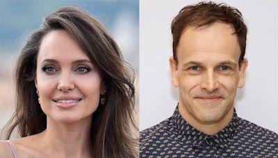 Angelina Jolie Visits Ex-Husband Jonny Lee Miller's Home During Family Trip