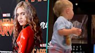 Grimes & Elon Musk's Son X Æ A-Xii Looks So Grown Up Walking In Rare New Video