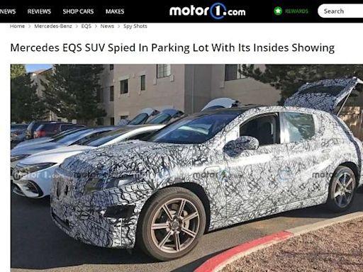 SUV 新車很搶戲,M.Benz 測試車被捕獲! - 自由電子報汽車頻道