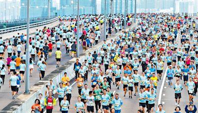 渣打馬拉松 恐現集體服裝「抗爭」 店鋪贈「香港加油」燙畫