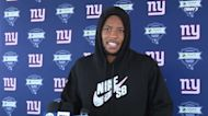 Saquon Barkley ankle injury update: was Jourdan Lewis' footstep intentional?| Giants News Conference