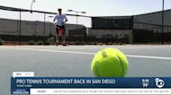 Pro tennis tournament coming to San Diego in late September