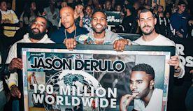 Jason Derulo Celebrates Music Career Milestone, Reveals Action Movie Ambition