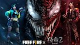 《Free Fire 我要活下去》x《猛毒 2 :血蜘蛛》預告將展開電影跨界合作