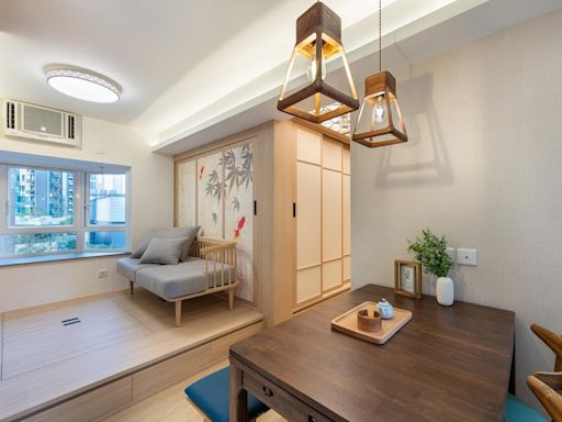 運用色彩及物料,打造富活力的簡約日系風住宅