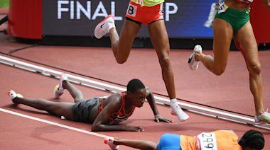 東奧8.2 荷蘭女將比賽中跌倒 起身暴衝加速追成第一