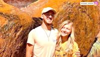 Fiancé of woman who didn't return from cross-country trip named person of interest