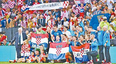 經驗豐富:克羅地亞老兵不死   蘋果日報