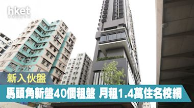 【入伙盤租務】馬頭角瑧尚入伙 40個租盤月租1.4萬元起 - 香港經濟日報 - 地產站 - 二手住宅 - 住宅放盤