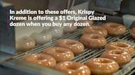 Krispy Kreme Is Giving Away Free Doughnuts on National Doughnut Day This Friday, June 4
