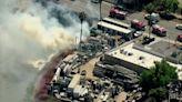 Firefighters battle fire near Barrio Logan storage yard
