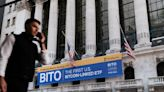 The debut of the first bitcoin futures ETF drew big demand, but retail investors mostly sat out, research firm says