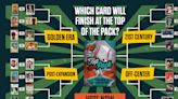 Help make 1 iconic card finish Top of the Pack