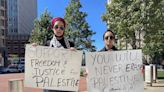 'Listen to us': advocates for Palestine gather to present letter to lawmakers