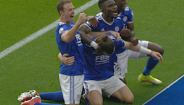 Soyuncu snatches late lead for Leicester City