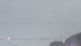 Car Tips Over in Alabama Flooding