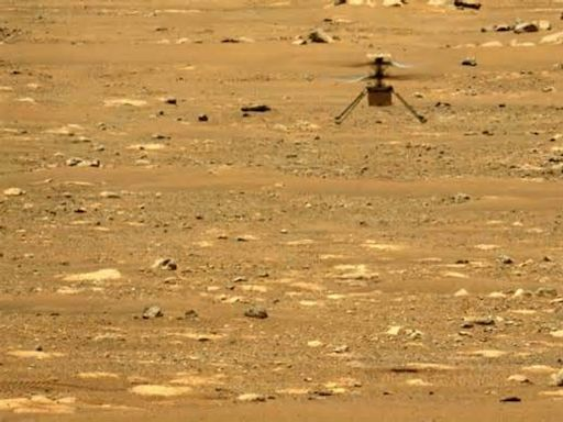 Watch NASA's Mars helicopter Ingenuity fly in 3D (video)