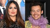 Salma Hayek's Pet Owl Coughed Up a Hairball Onto Harry Styles' Head