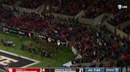 Oregon State's Luke Musgrave returns blocked punt for touchdown against Utah
