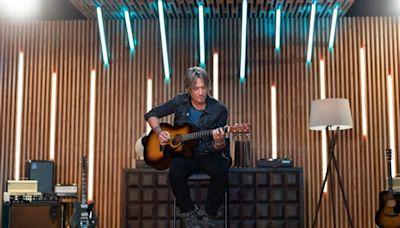 Keith Urban Talks Returning to Stage, Launching His New Guitar Lessons App and Why He's Fascinated by Halsey