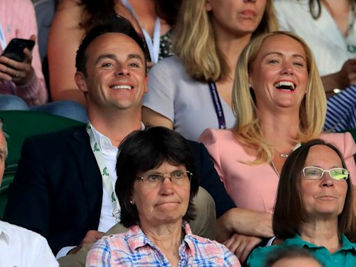 'She's my happy place': Ant McPartlin makes rare mention of girlfriend Anne-Marie Corbett
