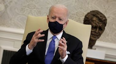 'Neanderthal thinking': Biden criticises Texas and Mississippi governors for dropping coronavirus restrictions